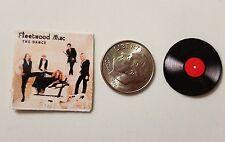 "Dollhouse Miniature Record Album 1"" 1/12 scale Barbie Fleetwood Mac Dance"