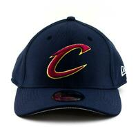 Cleveland Cavaliers New Era Cap NBA 39Thirty Curved Brim Hat In Navy Gym