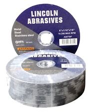 """25 Pc 6"""" x 1/16"""" x 7/8"""" Cut Off Wheels Stainless Steel Metal Cutting Discs"""