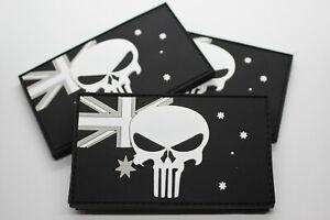 PVC Punisher Australian Flag Patch