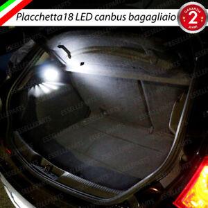 PLACCHETTA A LED BAGAGLIAIO 18 LED SPECIFICA FIAT GRANDE PUNTO 6000K CANBUS