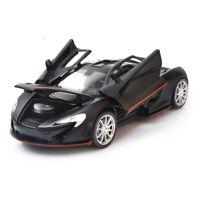 1:32 McLaren P1 Supercar Model Car Diecast Toy Vehicle Sound Light Kids Black