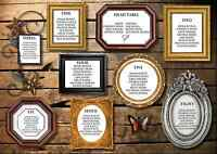 Personalised Frames Wedding Table Plan / Seating Plan Large A1 A2 A3