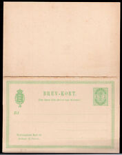 086 DENMARK PS STATIONERY POSTAL CARD WITH REPLY UNUSED
