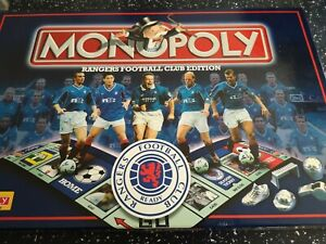 Rangers Football Club Edition Monopoly all cards and houses still sealed