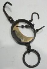 Ancien PESON Ovale à Double Pesée XIXème siècle (2)