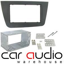 Genuine SEAT ALTEA 2004 Car Stereo Double Din Facia Panel & Cage DFPK-18-01/BK