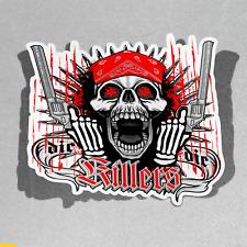 Skull Killers Guns Scary Dangerous Vinyl Sticker Decal Window Car Van Bike 2960