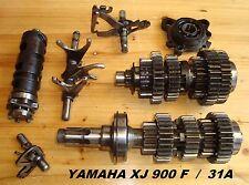 Yamaha XJ 900 F_31A_Getriebe_transmission_gear_Schaltgabel_Getriebewelle_Zahnrad