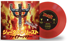 "JAPAN ONLY FIREPOWER 7"" RED VINYL EP  SENT FROM BERLIN! JUDAS PRIEST 2018"