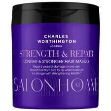 Charles Worthington Strength & Repair Longer Stronger Hair Masque 160ml NEW