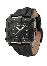 Police Men's PL.93404AEU/02A Quartz Watch with Black Dial Analogue Display