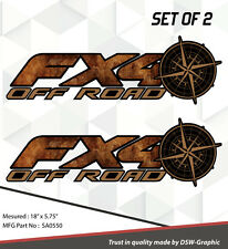 4X4 SPORT OFFROAD DECAL STICKER FITS RAPTOR FX4 F150 F250 F350 RANGER SA0550