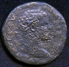 """Ancient Roman Coin """" Hadrian """" 117 - 138 A.D. REF# S1034 27 mm Diameter"""