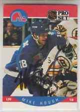 Autographed 90/91 Pro Set Mike Hough(series 1) - Nordiques