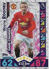 2016 / 2017 EPL Match Attax (386) Game Changer WAYNE ROONEY Manchester United