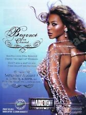 BEYONCE In Concert - Famous singers advertisement ONLY - A4 size HQ print