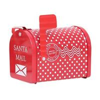 Stealing Santa Claus Mail Box Money Box Piggy Bank Christmas Gift Decor Kid Z6G2