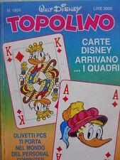 Topolino n°1856 [G.273] - BUONO –