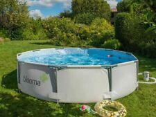 Blooma Schwimmbecken Gartenpool Stahlrohrbecken Filterpumpe Swiming Pool
