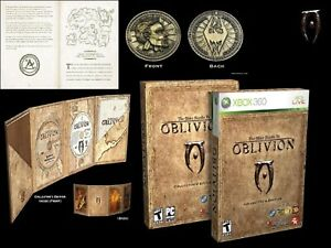 The Elder Scrolls IV Oblivion Collector's Edition XBOX 360 VideoGame UK Release