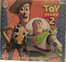 Toy Story 2 16 Month Calendar Year 2000 New Sealed
