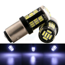x2 Samsung Canbus LED 42 SMDs White Tail Brake Replace Sylvania Light Bulbs N242