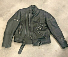 Hein Gericke CCI California Men's Leather Motorcycle Jacket Size 42 Pre-owned