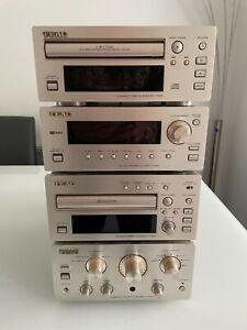 TEAC HiFi separates H300 series - Amplifier - Radio - CD Player - Cassette Deck