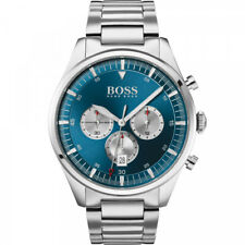HUGO BOSS® watch Pioneer Lux Blue Dial Bracelet Watch HB 1513713