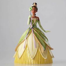 New DISNEY SHOWCASE Figurine PRINCESS TIANA MASQUERADE Sculpture FROG MASK PEARL