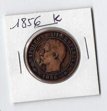 10 centimes Napoléon   III   1856 K