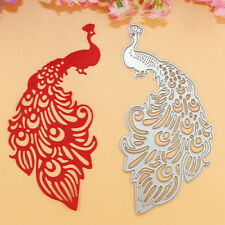 Peacock DIY Metal Cutting Dies Stencils Scrapbooking Embossing Album Photo Cards