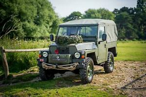 Land Rover Series 3 Lightweight Soft Top Military 1983