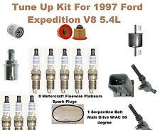 Tune Up Kit For 1997 Ford Expedition V8 5.4L Spark Plug, Ignition Coil, Oil Filt