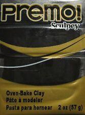 Sculpey PREMO - Polymer Clay - 57g - BLACK