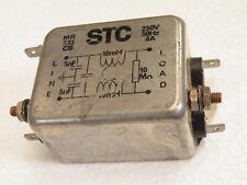 EMI Mains Filter 250Vac 50-60Hz 8A STC MR233C8 Z013