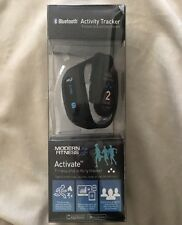 New Modern Fitness Activate Tracker Bluetooth Black