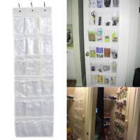 24 poches sac suspendu boît chaussure rack cintre rangement porte placard L7