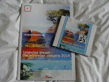 Bundle Of 4: Tangerine Dream : Supernormal The Australian Concerts 2014 & Book