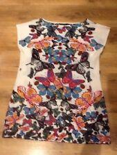 Dress/top Size 12.dorothy Perkins.summer.light.beach.tea.garden.party.holiday.tr