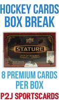 Upper Deck 2019/20 Stature Hockey CARD Box BREAK🏒1 RANDOM TEAM🏒Break 3920