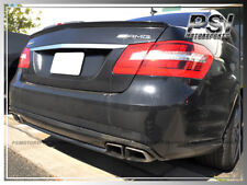 2010-2014 W212 E250 E350 E550 Sedan 4Dr E63 AMG Carbon Fiber Trunk Lip Spoiler