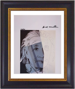 Albert Einstein by Andy Warhol Hand Signed Original Print With COA - $6750 Value
