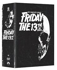Friday the 13th . Complete Series . Season 1 2 3 . Erben Des Fluchs . 17 DVD NEU