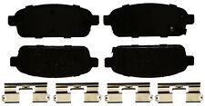 Disc Brake Pad Set-Ceramic Disc Brake Pad Rear ACDelco Pro Brakes 17D1468CHF1
