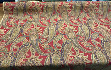 P Kaufmann Steeplechase Paisley Pompeii Fabric by the yard