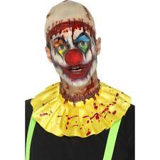Látex Miedo Payaso Instantáneo Disfraz Kit Horror Payasos Halloween + Calvo Tapa