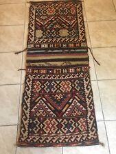 Persian Shahsavan Khorjin(double Bag)trible Flat Weave