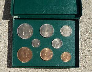 IRELAND IRISH 8 COIN SET 1952 - 1959